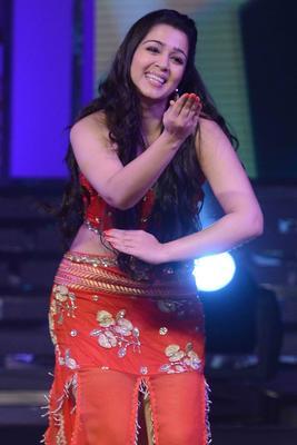 Charmi Kaur Latest Performance Still At Cine Maa Awards 2013 Event