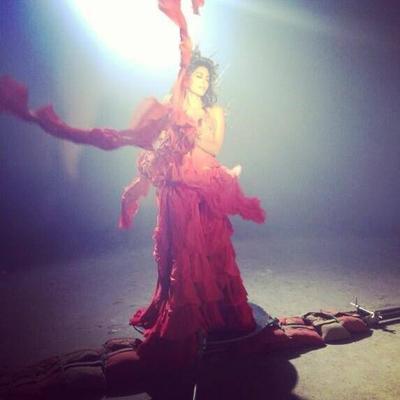 Chitrangda Singh Shoots For Gumraah Promo