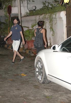 Priyanka Chopra Snapped At Sameer Arya's House