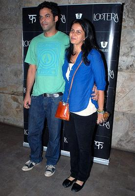 Stars Attend The Special Screening Of Lootera Movie