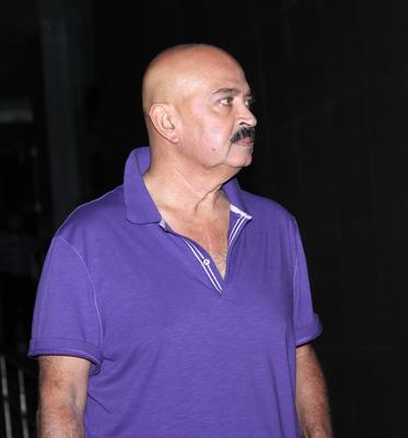 Hrithik Roshan Father Rakesh Roshan At Hinduja Hospital