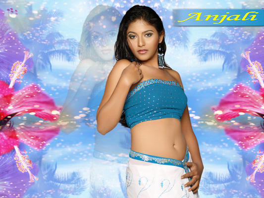 Anjali Hot Sexy Look Wallpaper Photo Still