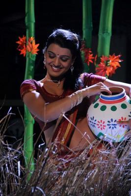 Tashu Kaushik In Village Girl Dress Smiling Look Still