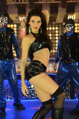 Scarlett Wilson Spicy Hot Item Song Still In Chandi Movie
