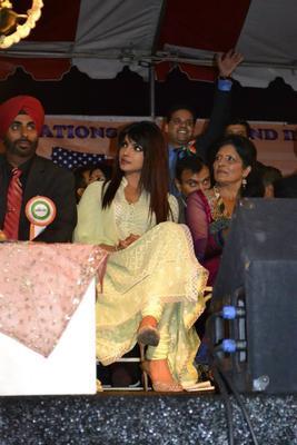 Priyanka Chopra Graced At The India Day Parade 2013 In LA