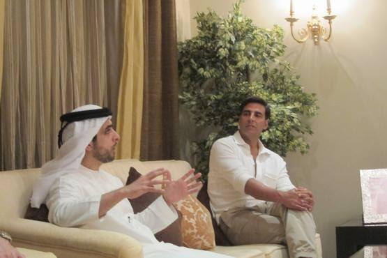Akshay,Sonakshi And Imran Khan At Oberoi Hotel In Dubai
