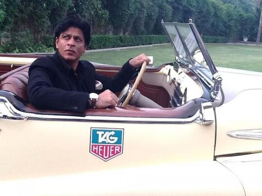 Shahrukh At The Tag Heuer Carrera 50 Year Celebrations Event In Delhi