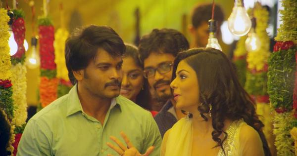 Alias Janaki Movie Rahul Venkat and Anisha Ambrose Nice Still