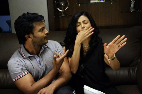 Rahul Venkat and Anisha Ambrose Funny Still From The Movie Alias Janaki
