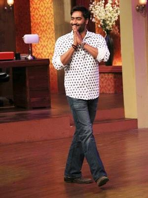 Satyagraha Movie Promotion On The Sets Of Comedy Nights With Kapil Show