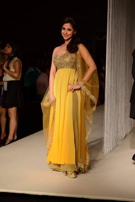 Celebs At Manish Malhotra's Show At LFW W/F 13