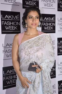 Kajol Devgan Snapped At Lakme Fashion Week 2013 Day 2