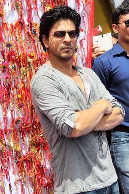 Shahrukh At Dahi Handi Celebration 2013 On Janmashtami At Ghatkopar