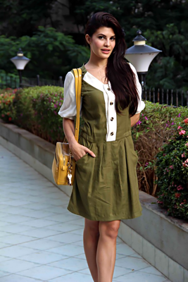 Jacqueline Fernandez At Are We Save Campaign On Crime Against Women