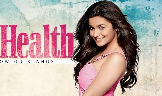 Bollywoods Newest Sensation Alia Bhatt On The Cover Of Women's Health Magazine