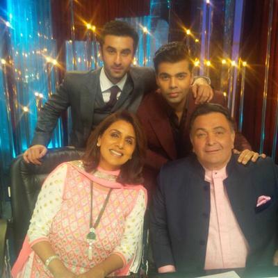 Besharam Team On The Sets Of Jhalak Dikhla Jaa 6
