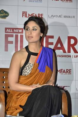 Kareena Kapoor Launches The Filmfare September 2013 cover