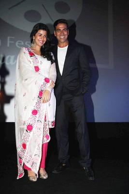 Akshay And Nimrat Launched 4th Jagran Film Festival 2013