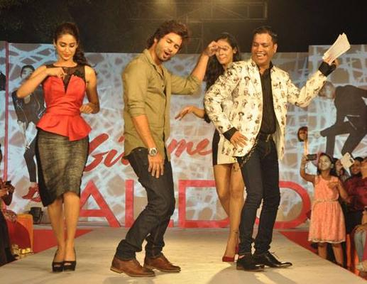 Ileana And Shahid Danced At Aldo Fashion Show 2013