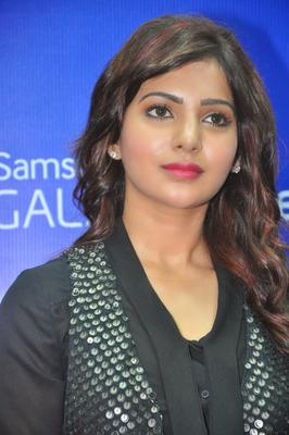 Samantha Sizzles During The Launch Of Samsung Galaxy Note III At Chennai