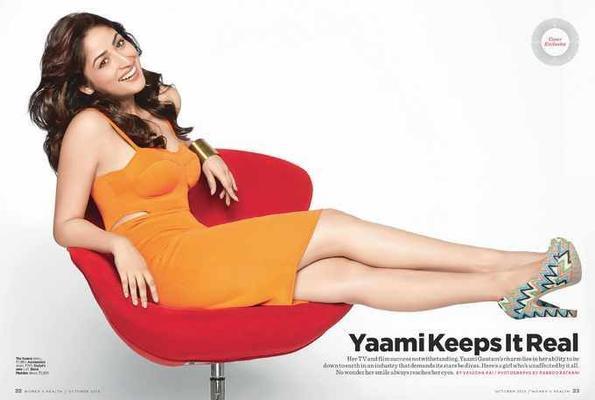 Yami Gautam At Women's Health Magazine's October 2013 Issue