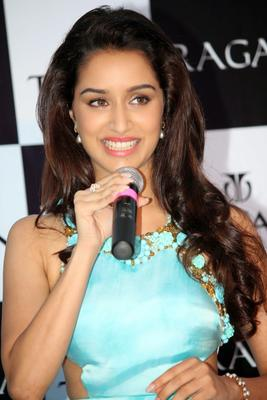 Shraddha Kapoor Launches Titan Raga's New Pearl Collection