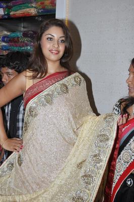 Richa Gangopadhyay Launch A Beautiful Saree At Priyanka Stores Opening Event