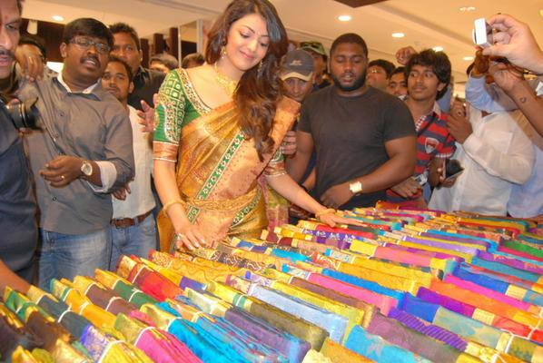 Kajal Launches The Chennai Shopping Mall