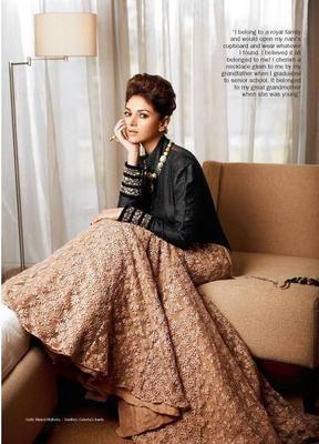 Glamour Aditi Rao Hydari Photoshoot For Filmfare Bridal Issue 2013