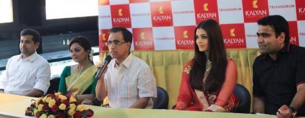 Aishwarya Rai Bachchan At A Kalyan Jewellers Event In Trivandrum