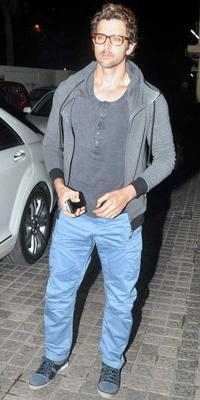 Celebrities At Krrish 3 Special Screening