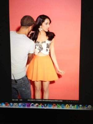 Shraddha Kapoor On The Sets Of Her Cosmopolitan Cover Shoot