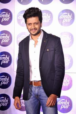 Riteish Deshmukh Fresh Look At Ambipur Launch Event