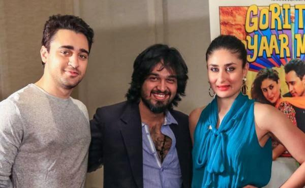 Kareena And Imran Pose During The Promotion Of GTPM In Dubai