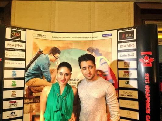 Kareena Kapoor And Imran Khan Promote GTPM In Dubai