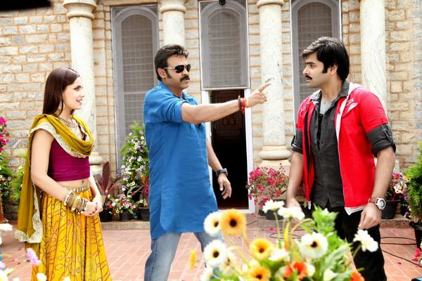 Ram And Venkatesh Still In Telugu Movie Masala