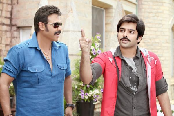 Ram And Venkatesh A Still From The Telugu Movie Masala