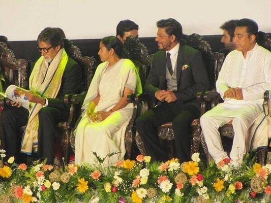 Amitabh,Shahrukh And Kamal At Kolkata Film Festival 2013