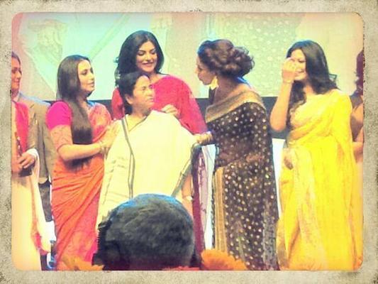 Bollywood Hotties And Mamata At The Kolkata International Film Festival 2013