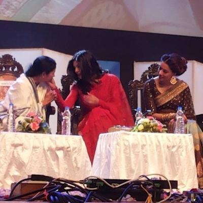 Sushmita,Mamata And Bipasha During The Kolkata International Film Festival 2013