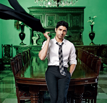 Bollywood Director Cum Actor Farhan Akhtar Latest Photo Shoot For Filmfare