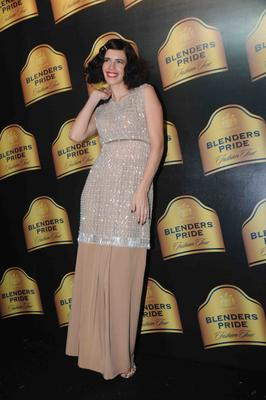 Kalki Koechlin Spotted At Blenders Pride Fashion Tour Mumbai Day 2 Event
