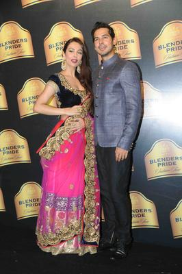 Malaika Pose With Deno At Blenders Pride Fashion Tour Mumbai Day 2 Event