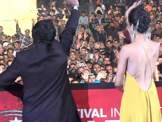 Deepika Padukone And Sanjay Leela At The Marrakech Film Festival
