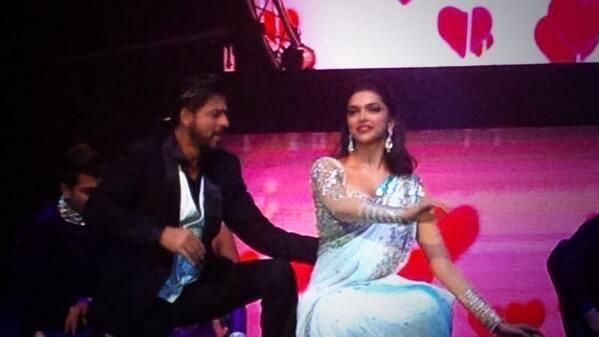 SRK,Madhuri And Deepika At Access All Areas Concert 2013