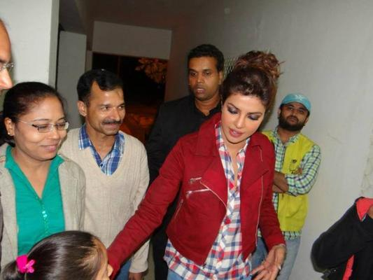 Priyanka Chopra Spotted At 4th Kabaddi World Cup Tournament In Bathinda