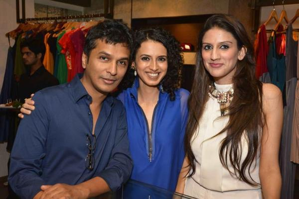 Bollywood Stars And Designer At Amit Agarwal Collection Preview