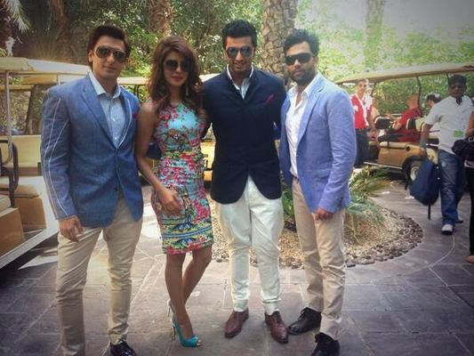 Cast Of Gunday Spotted To Launch Trailer At The Dubai International Film Festival