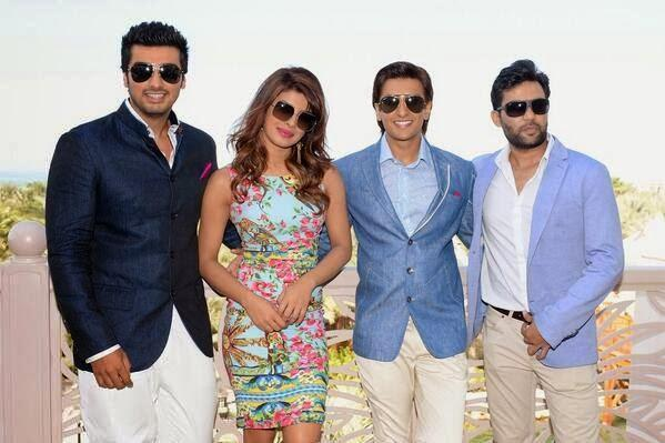 Priyanka,Ranveer And Arjun To Launch Gunday Trailer At Dubai International Film Festival