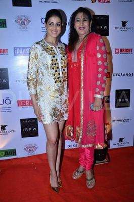 Bubbly Babe Genelia D'Souza At IRFW